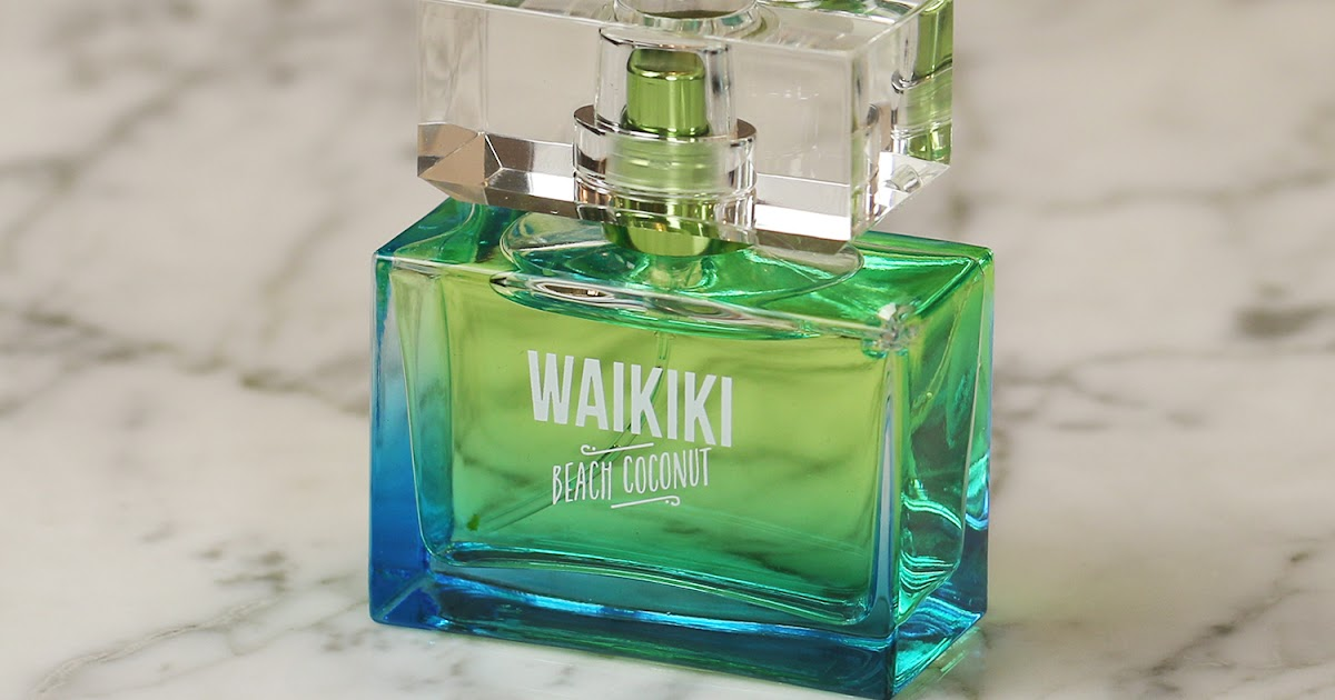 Bath And Body Works Waikiki Beach Coconut Perfume