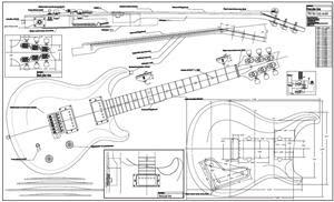 Door from wood: Guitar plans prs Info