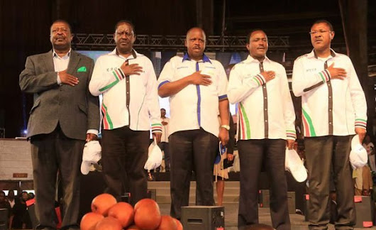 Kenya's Opposition Alliance Names Date to Reveal Flagbearer