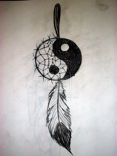 yin  dream catcher  kohanagirldeviantartcom