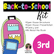 Back to School Third grade (3rd) Kit {Brochure, Presentation, and More +)