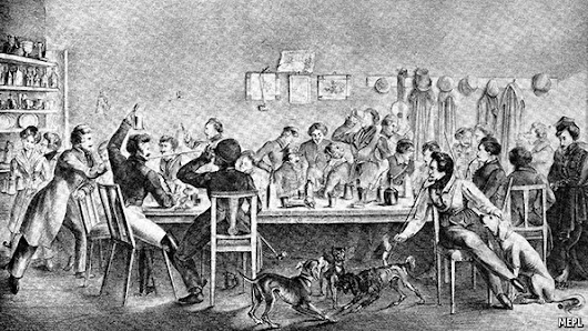19th-century student drinking habits: The not-so-sweet smell of excess | The Economist