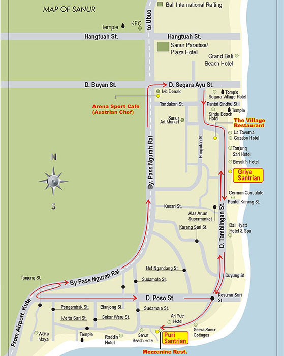 street map sanur bali, hotel map sanur bali, bali tourism map, bali hyatt sanur map, sanur accommodation map, sanur hotels restaurants map, hotels sanur bali map, royal bali beach club sanur map,Sanur Bali Map,Map Sanur Bali,Map of Sanur Bali