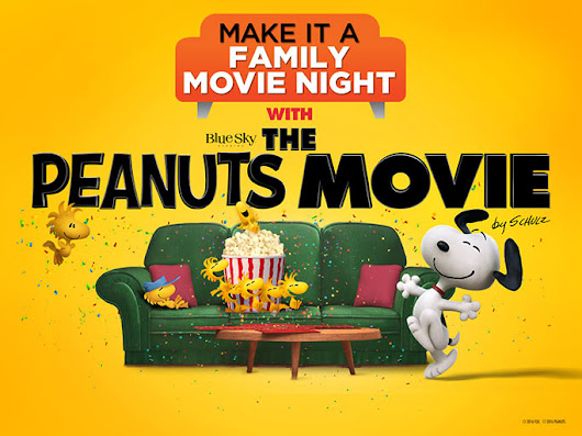 Family Movie Night with The Peanuts Movie + Giveaway! - Game On Mom