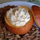 Pumpkin fluff dip  1 16 oz. whip cream, 1 sm vanilla pudding mix, 1 15 oz pumpkin, 1 tsp pumpkin pie spice mix together & serve with cinn. graham crackers