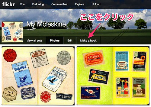 My Moleskine - a set on Flickr