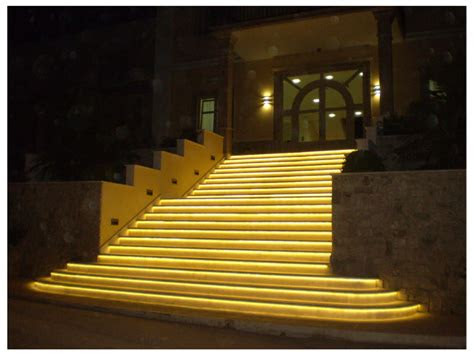 outdoor  patio led strip light examples weather