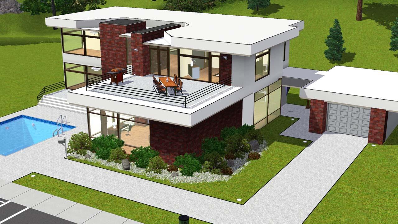 The Sims 4 House Design Ideas Modern Design