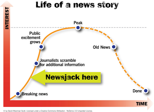 Newsjacking for Nonprofits: #CommBuild October 21, 2014 (with image, tweets) · kparkerri711