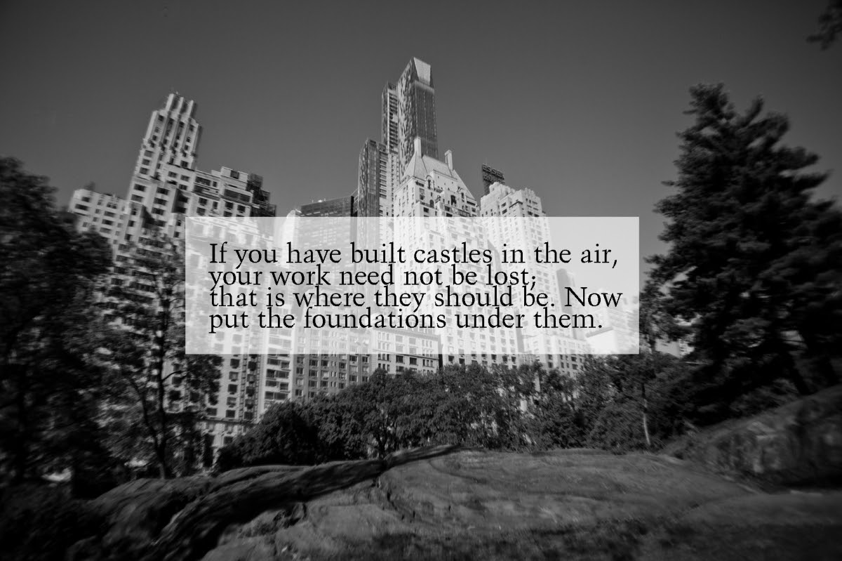 Quotes About Castles In The Sky 26 Quotes