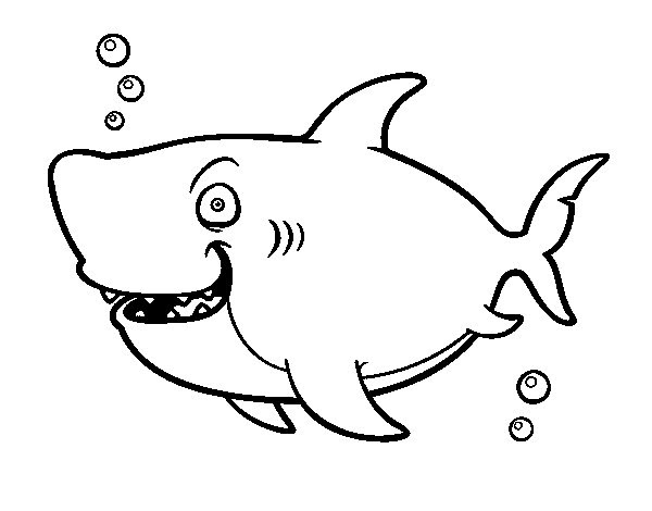 Whale shark coloring page - Coloringcrew.com