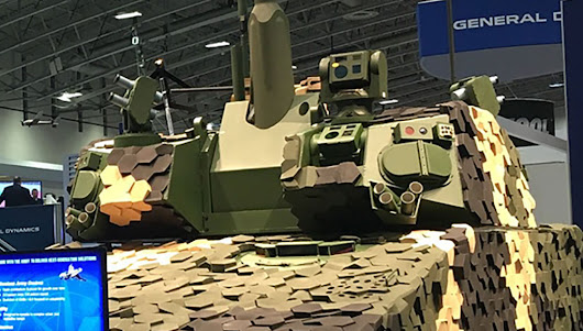 Griffin III 'Concept Tank' is GDLS' Fresh View of the Next Generation Combat Vehicle - Defense Update: