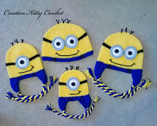 Ravelry: Free Minion Hat pattern by Crochet by Jennifer