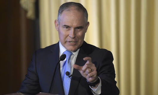 New EPA head Scott Pruitt's emails reveal close ties with fossil fuel interests - Green Wars Show - Because There's a War For Our Environment
