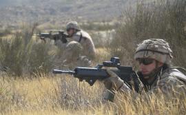 Ejercicio en las Jornadas de Combate en Desierto