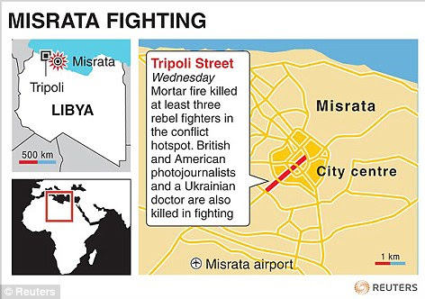 Misrata fighting has concentrated on Tripoli Street