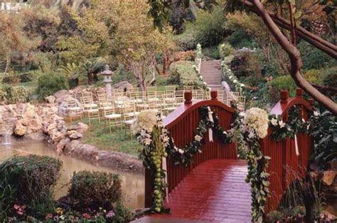 Pasadena Langham Hotel Japanese Garden Wedding. Love