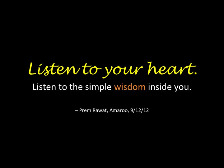 The Heart Of The Matter Listen To Your Heart