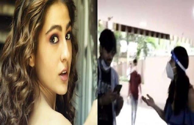 फैन के मास्क उतारने पर भड़की एक्ट्रेस सारा अली खान, बोलीं- 'ऐसा नहीं करना चाहिए'