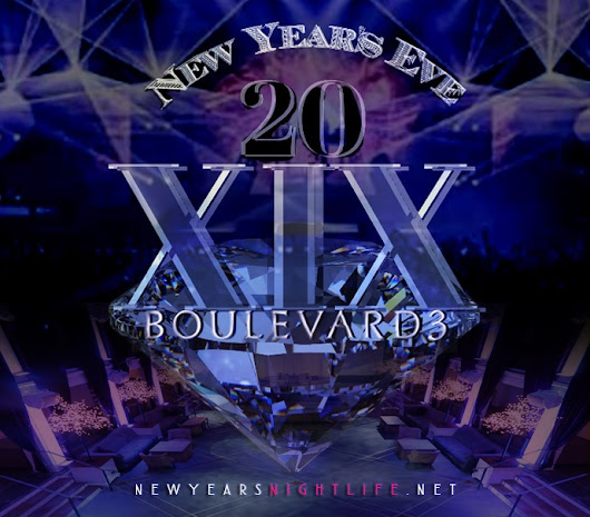 2019 Boulevard3 New Years Tickets