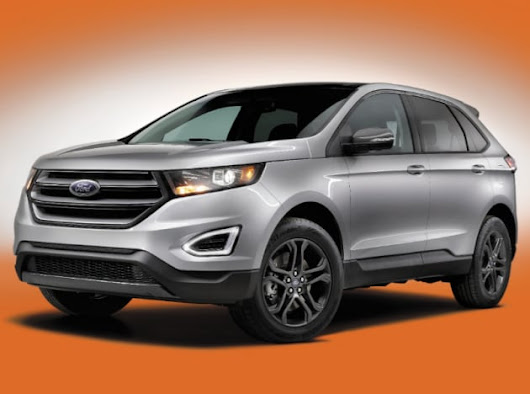All-New 2018 Ford Edge SEL Sport Appearance Package