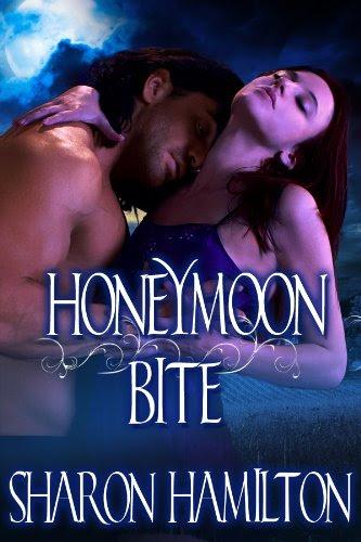 Honeymoon Bite (Golden Vampire Legacy) by Sharon Hamilton