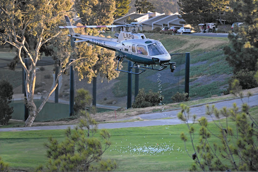 LAPD is reviewing use of helicopters for non-department events
