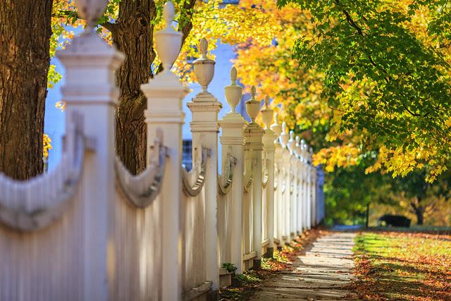 Fall Morning in Bennington, VT