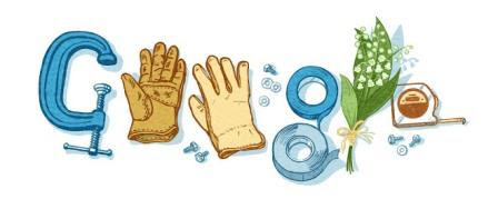 Google Doodle Celebrates Labour Day 2015 | Hubsubpost: Tech News Blog