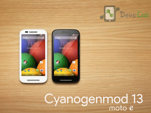 Download and Install Cyanogenmod 13 in Moto E 1st Gen 2014