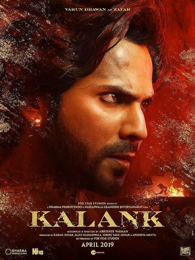 Kalank Full Movie 1CD DVDSCR x264 AAC HD Print Download