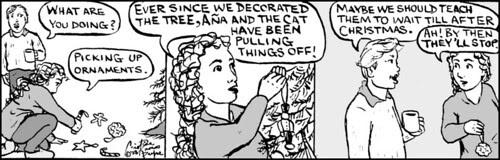 Home Spun comic strip #298