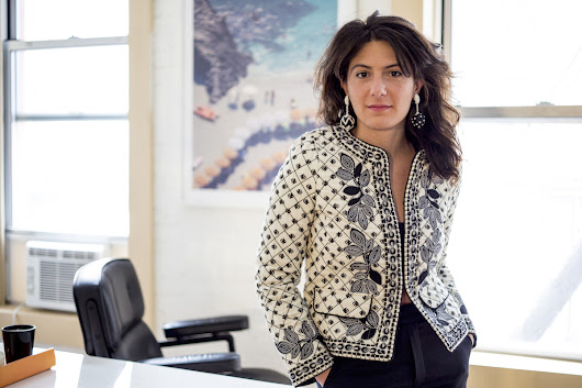 On the Red Couch with Man Repeller President Kate Barnett