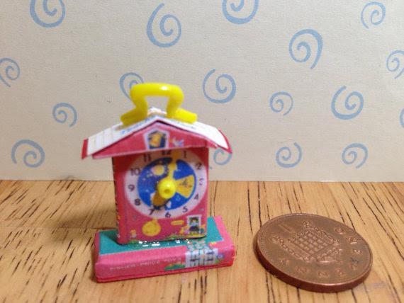 Miniature Fisher Price toys by sarashooakbabies
