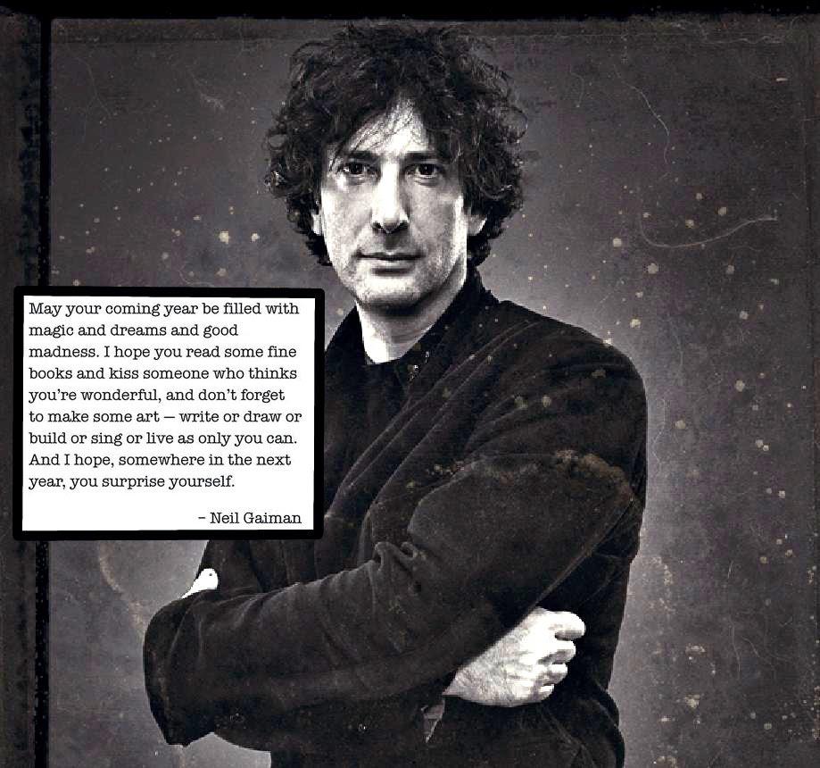 New Year Wishes Neil Gaiman Emily Romrell