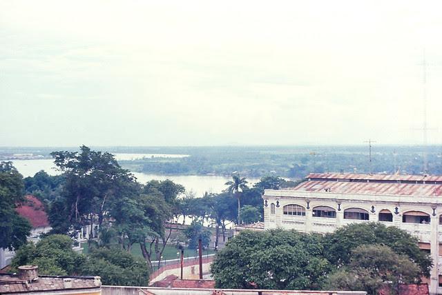 Saigon 1964 - Caravelle Hotel Top - Saigon River View