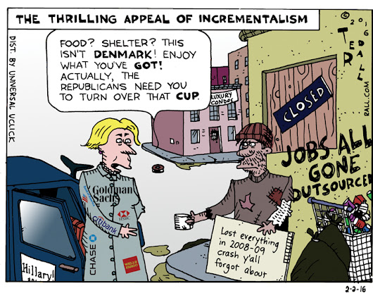 Ted Rall: What, You Think This Is Denmark? [cartoon]