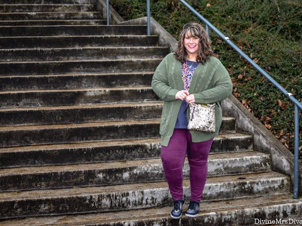 What I Wore: The Oversized Cardigan