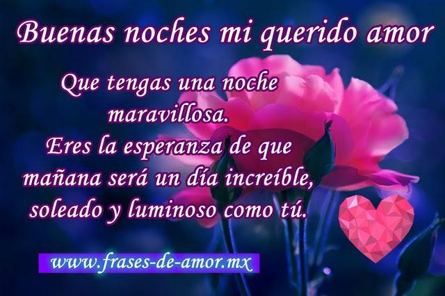 Frasesamor Frases De Amor De Buenas Noches Para Mi Novia