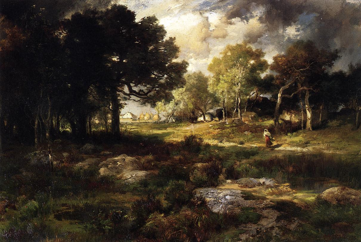 Romantic Landscape Thomas Moran