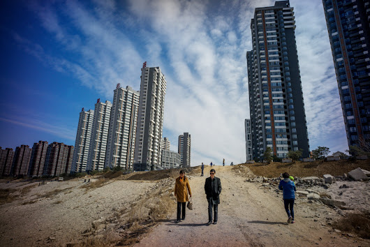 In China, a Supercity Rises Around Beijing - The New York Times