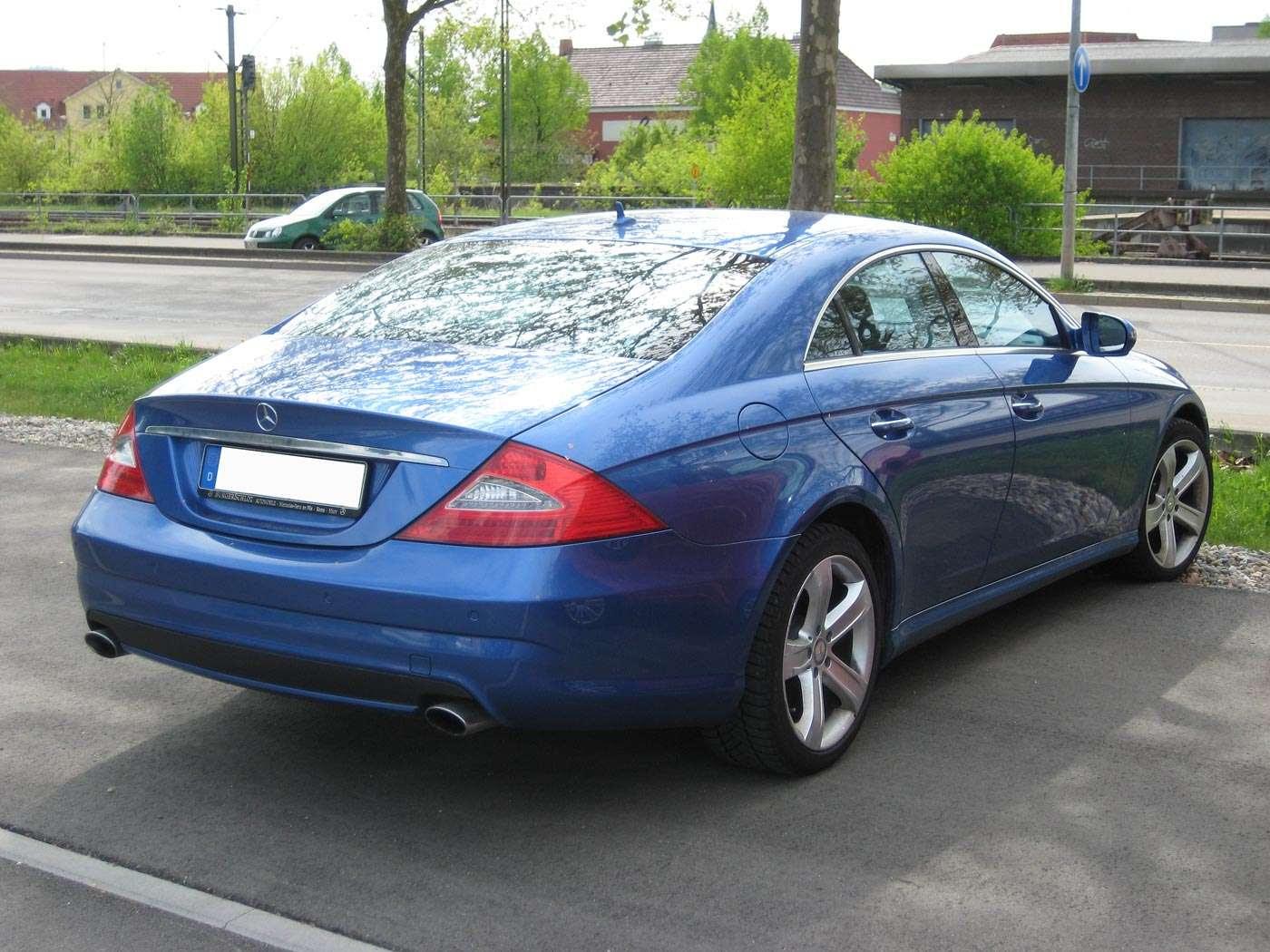 POWER CARS: Mercedes-Benz CLS 500 (designo Mauritius blue)