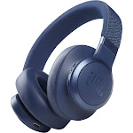 JBL Live 660NC Blue Wireless Over-Ear Headphones (JBLLIVE660NCBLUA / LIVE660NCBLU)