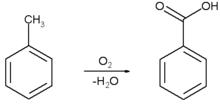 toluene oxidation