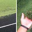 Grounds Crew Accidentally Mows Turf