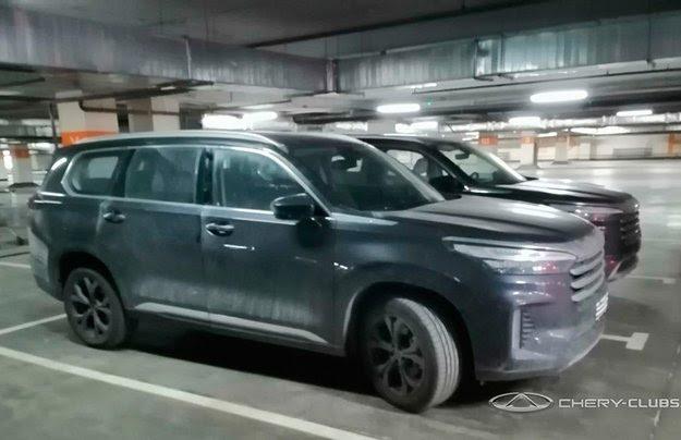 В Россию приехал трехрядный Cheryexeed VX