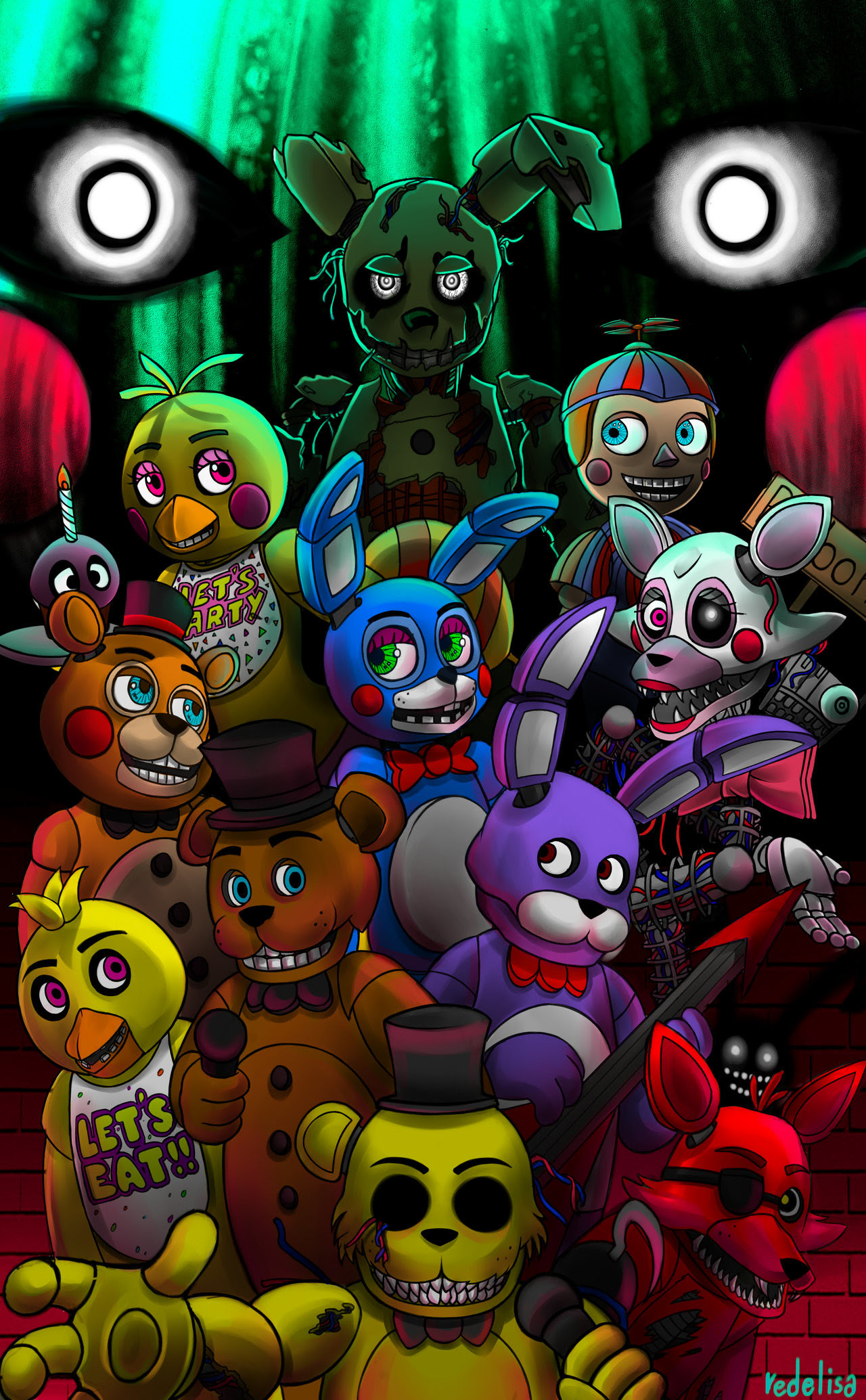 Scary Fnaf Wallpaper 81 Images