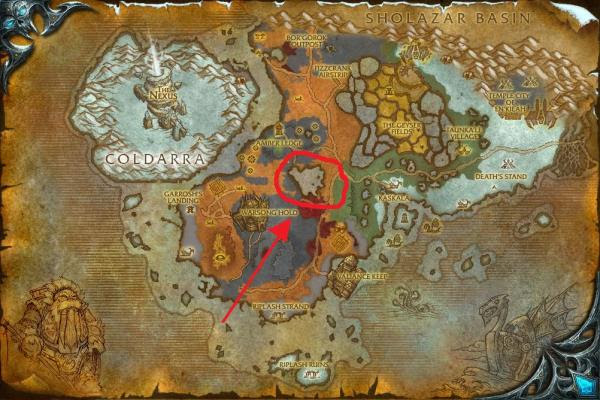 Pu13maxy13 world of warcraft map cataclysm here is a map of borean with gumiabroncs Image collections