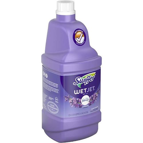 Swiffer Wet Jet Multi-purpose Cleaner Refill with Febreze Lavender & Vanilla Scent 1.25 Liters