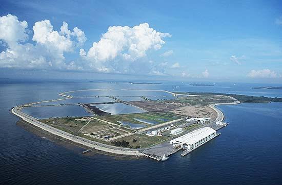 Aterro Pulau Semakau serve de reserva natural; local é aberto para turistas durante cinco dias da semana